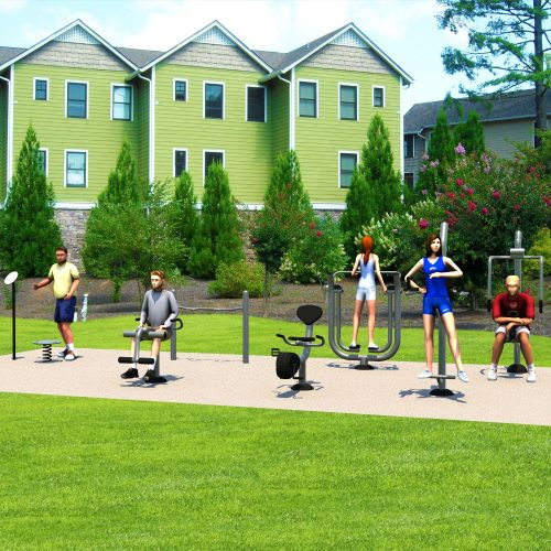UP302 Starter Kit - Outdoor Fitness Package