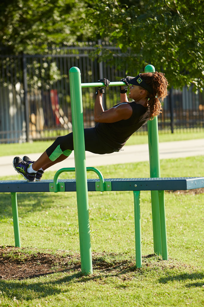Horizontal Chin-Up Station - Outdoor Fitness Equipment ...