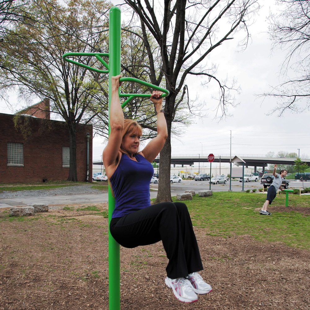 UP257 Knee Lift Station for Outdoor Fitness Parks