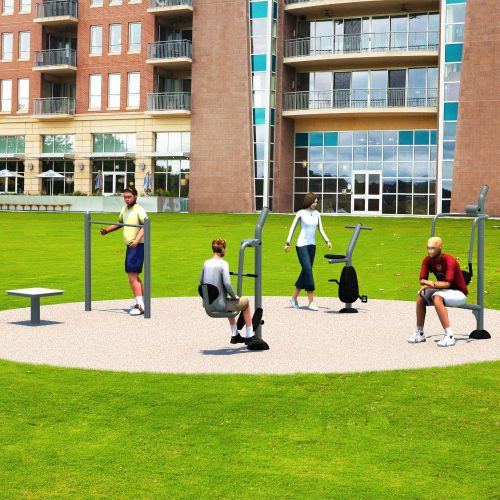 UP304 Pocket Park Kit B - Outdoor Fitness Package