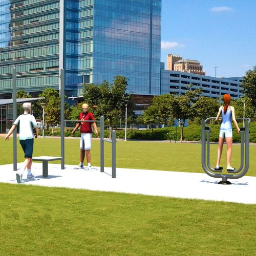 UP305 Simple Fitness Kit - Outdoor Fitness Package