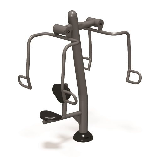 UP179 Chest Press (Accessible) - Outdoor Fitness Station