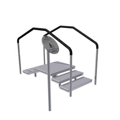 UP353 ASSISTED STEP TRAINER